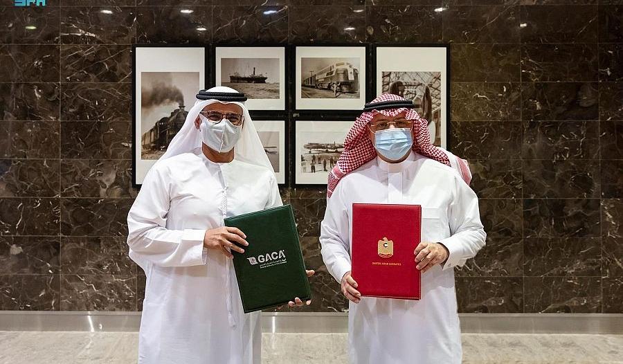السعودية والإمارات توقِّعان مذكرة تفاهم في أمن الطيران