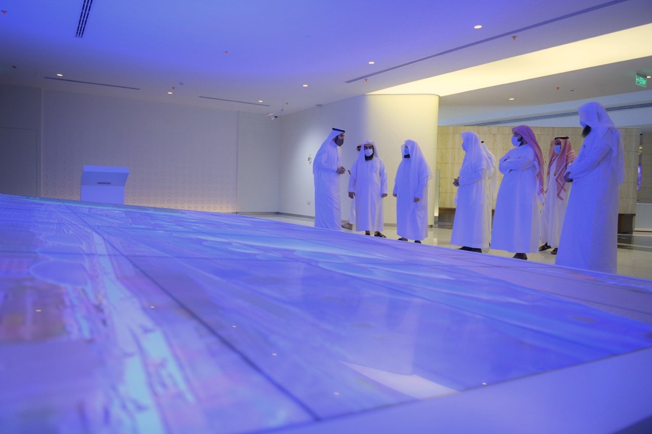 معرض عمارة المسجد النبوي0