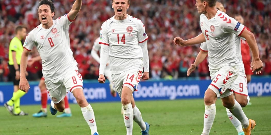 منتخب الدنمارك إلى ثمن نهائي يورو 2020