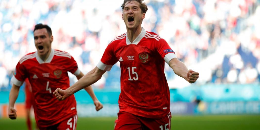روسيا تتجاوز فنلندا وتنعش آمالها في يورو 2020