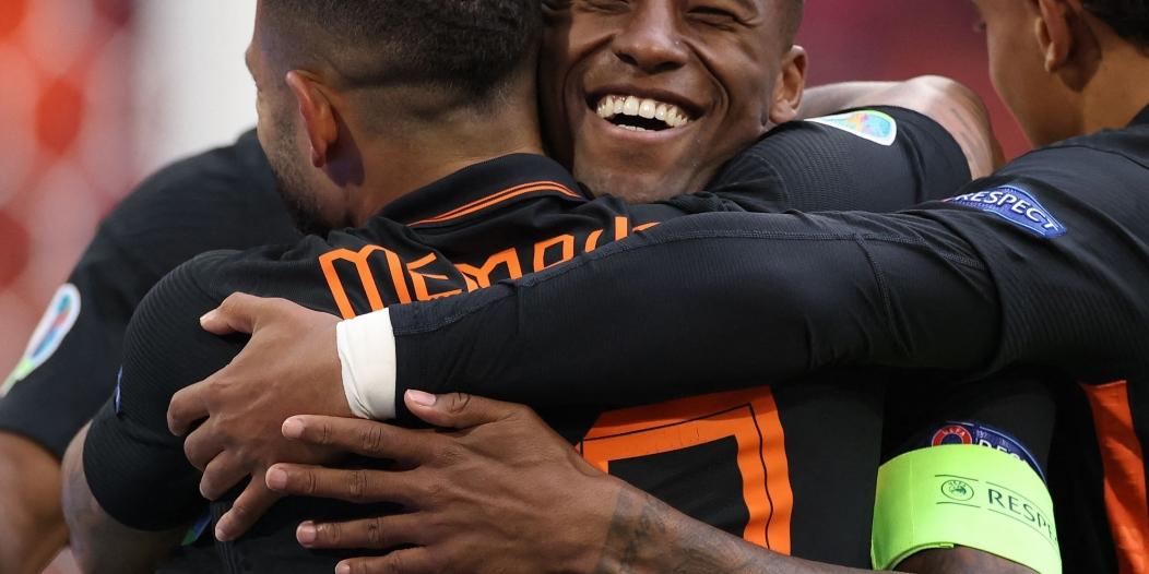 هولندا تكتسح مقدونيا في يورو 2020