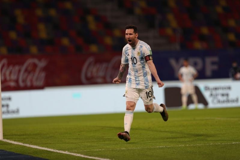 ليونيل مع منتخب الأرجنتين