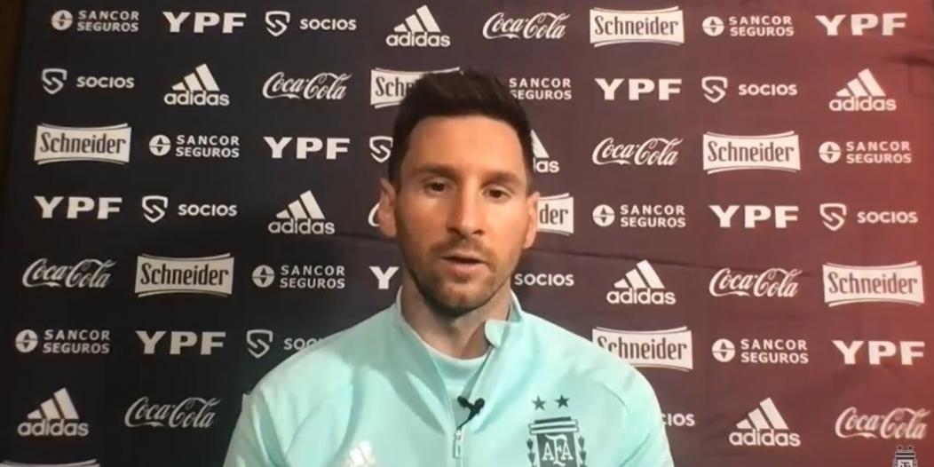 كورونا يقلق ميسي في Copa america