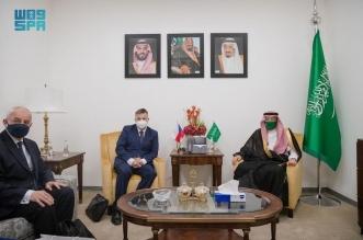 نائب وزير الخارجية يستعرض التعاون مع نظيره التشيكي - المواطن