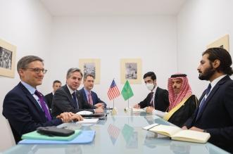 وزير الخارجية مع نظيره الامريكي