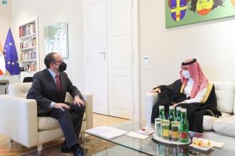 وزير الخارجية يلتقي وزير خارجية النمسا12