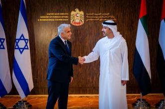وزير خارجية إسرائيل في الإمارات