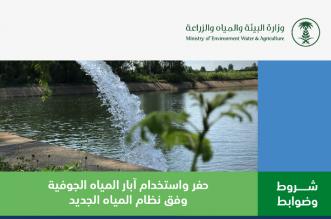 البيئة تحدد شروط وضوابط حفر واستخدام آبار المياه الجوفية ومزاولة المهنة - المواطن