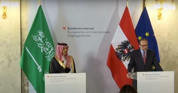 وزير خارجية النمسا : السعودية شريكنا المهم ويجب وقف الهجمات الحوثية
