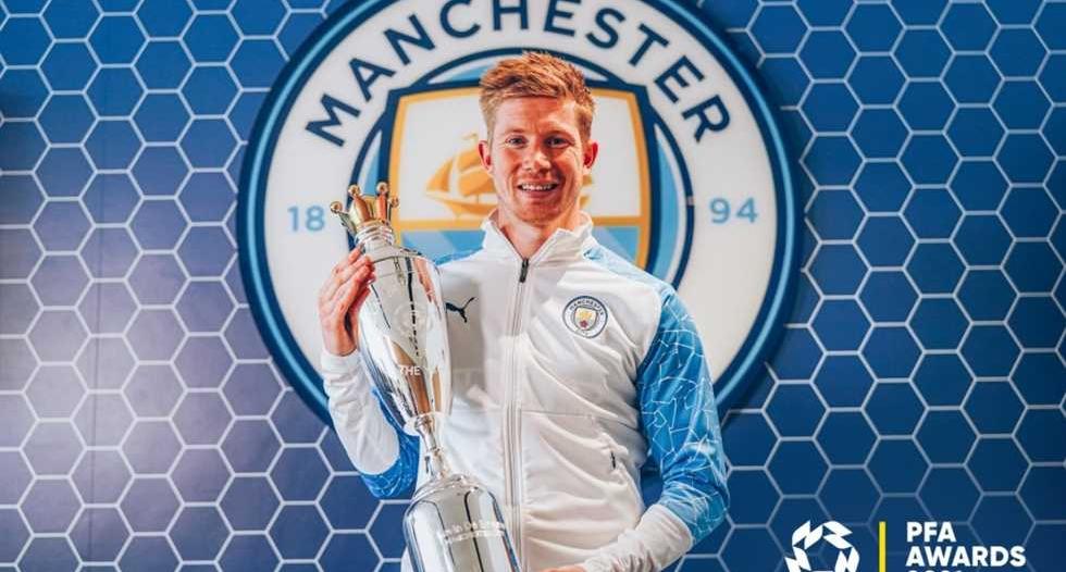 كيفن دي بروين أفضل لاعب بـ الدوري الإنجليزي