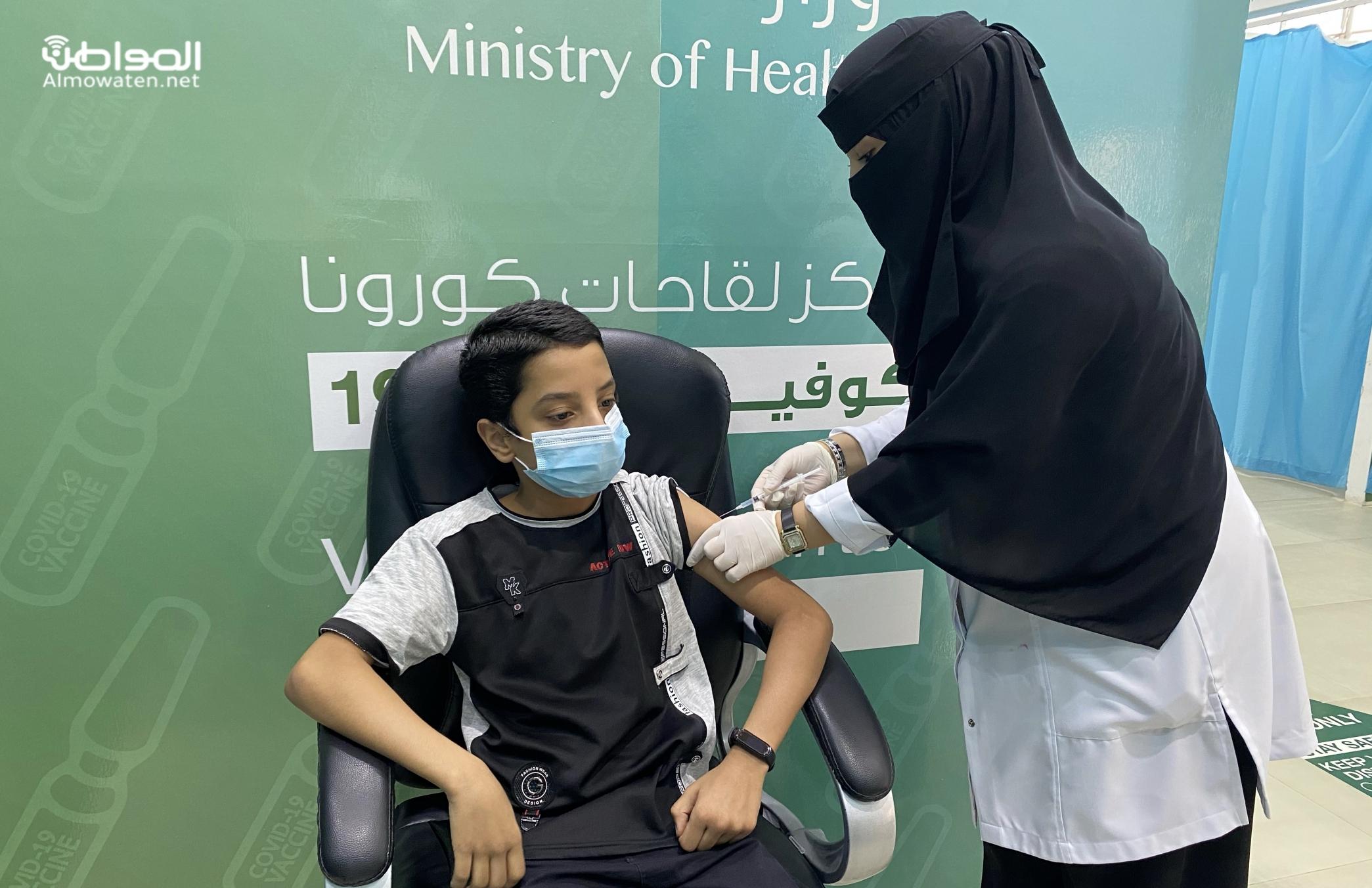 البدء في تطعيم الفئة العمرية من 12-18 سنة بحفر الباطن