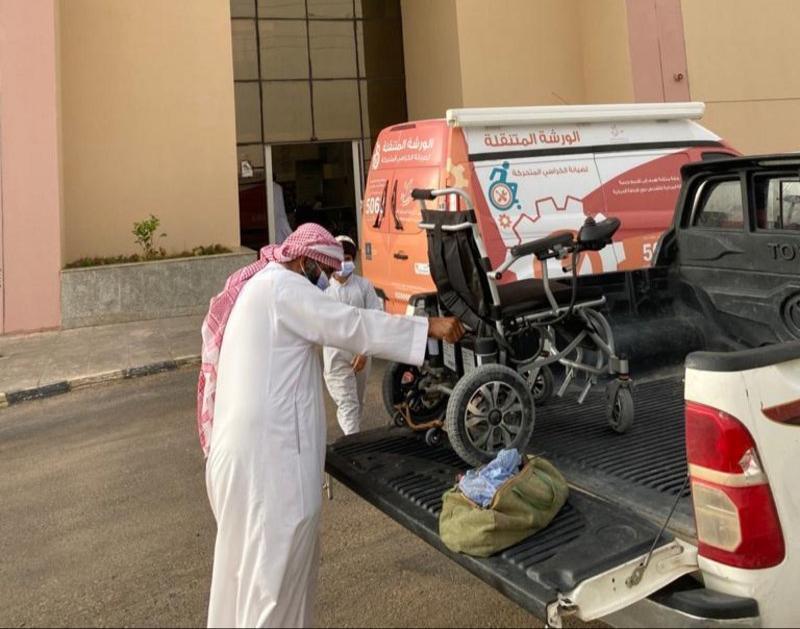 حركية تنفذ أكثر من 141 عملية صيانة للكراسي المتحركة في محافظات الرياض - المواطن