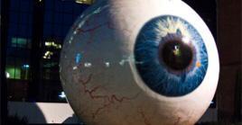تفاصيل مجسم العين العملاقة في دالاس - المواطن