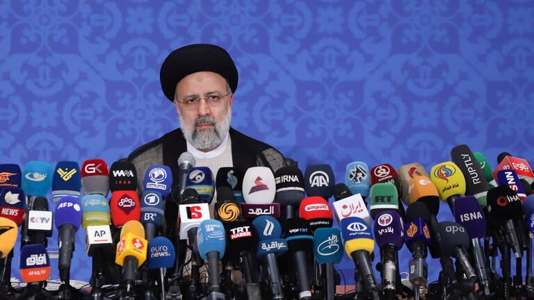 الرئيس الإيراني إبراهيم رئيسي: سياستنا الخارجية لن تكون محدودة بالاتفاق النووي