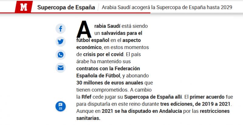 هكذا أنقذت السعودية كرة القدم الإسبانية