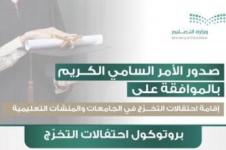 المقام السامي يوافق على إقامة احتفالات التخرج في الجامعات والمنشآت التعليمية - المواطن
