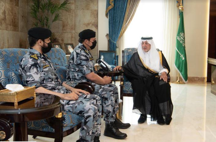 الفيصل يستقبل اللواء البسامي بعد تعيينه قائدًا للقوات الخاصة لأمن الحج والعمرة