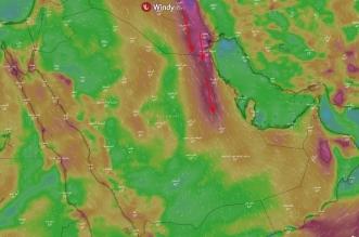 المسند يتوقع استمرار رياح البوارح الحارة على هذه المناطق - المواطن