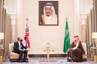 محمد بن سلمان يستقبل وزير الخارجية البريطاني ويبحثان تعزيز التعاون المشترك - المواطن