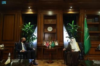 الجبير يستعرض العلاقات ومستجدات الأحداث مع وزير خارجية بريطانيا - المواطن