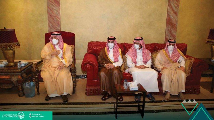 أمير الرياض يعزي أسرة مستشاره الخاص: ترك ذكرى طيبة وسيرة حسنة