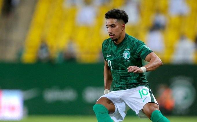 سالم الدوسري - المنتخب السعودي