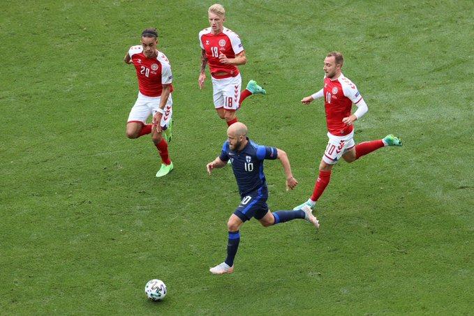 الدنمارك تسقط في فخ الخسارة أمام فنلندا
