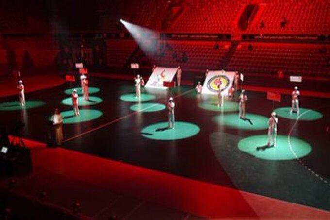 افتتاح البطولة الآسيوية