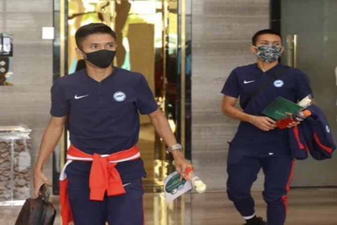 منتخب سنغافورة يغادر الرياض