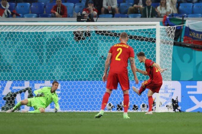 بلجيكا ضد روسيا