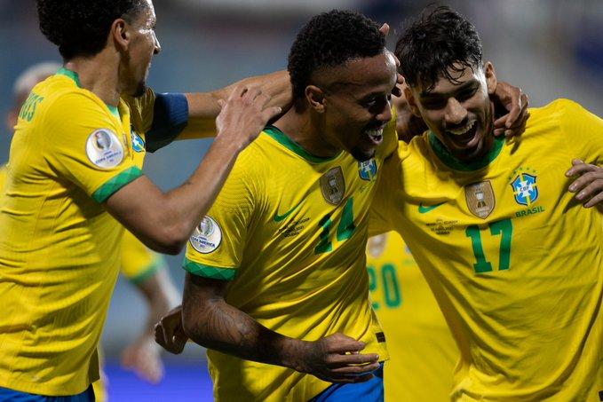 المواجهات المحتملة لـ البرازيل بربع نهائي كوبا أمريكا