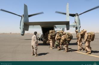 اختتام مناورات تمرين مخالب الصقر 4 بين القوات السعودية والأمريكية - المواطن