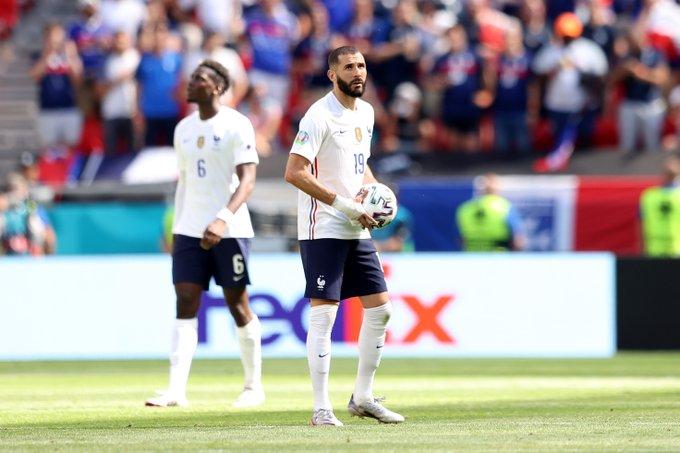 فرنسا - بنزيمة وبوجبا