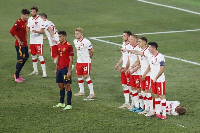 بولندا تجبر إسبانيا على التعادل في اليورو