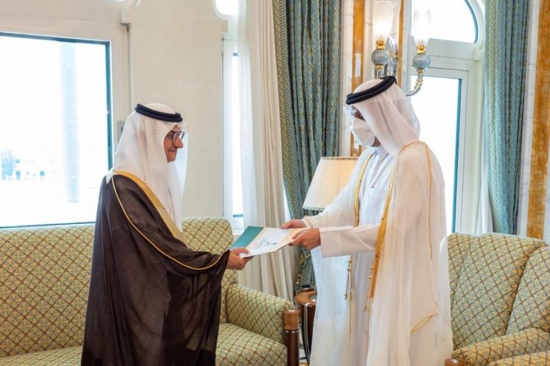 قطر تتسلم أوراق اعتماد سفير المملكة الأمير منصور بن خالد بن فرحان - المواطن