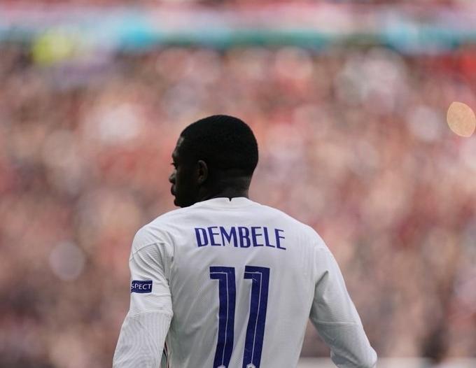 استبعاد عثمان ديمبيلي من قائمة فرنسا بـ يورو 2020
