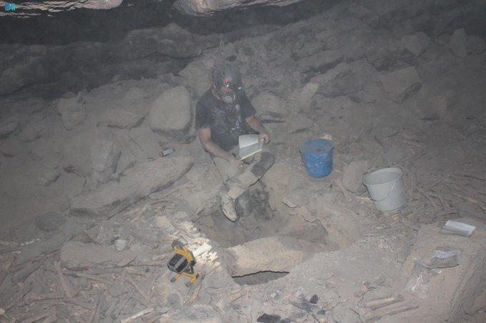 اكتشاف أثري في كهف أم جرسان بالمدينة - المواطن