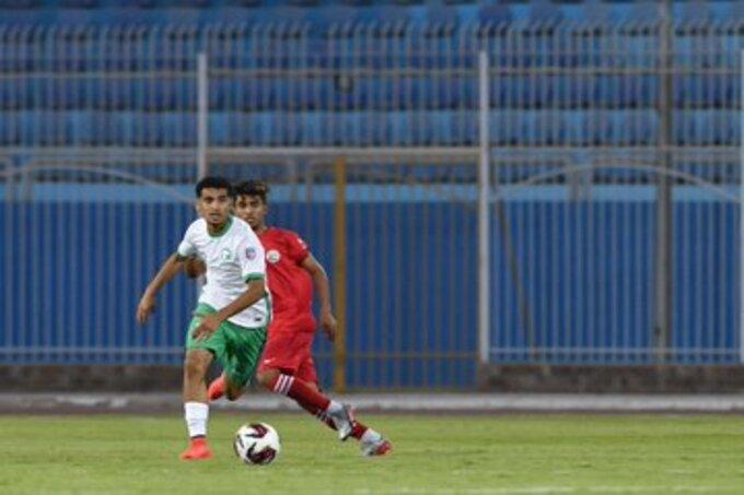 المنتخب السعودي - السعودية واليمن - كأس العرب للشباب