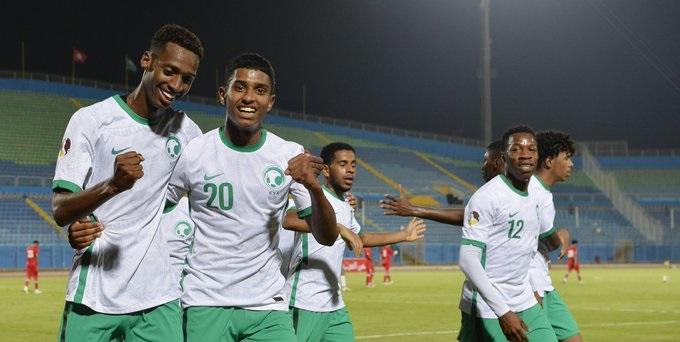 السعودية تكسب اليمن في كأس العرب لـ الشباب