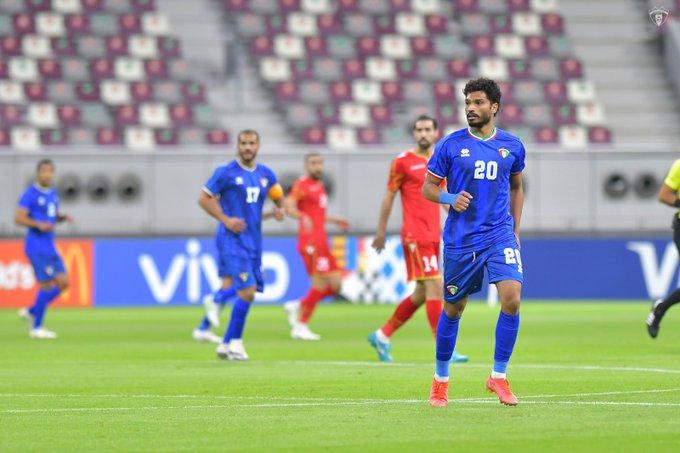 منتخب الكويت والبحرين
