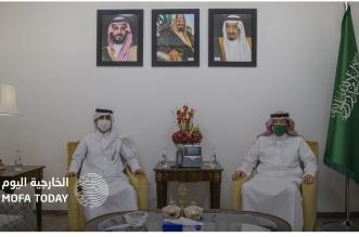 وزير الخارجية يتلقى رسالة خطية من نظيره القطري - المواطن