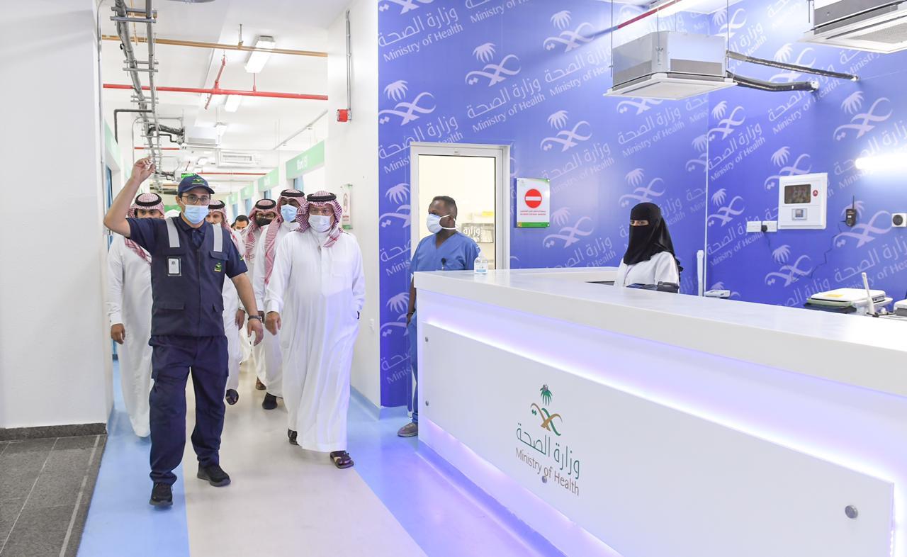 تركي بن طلال يدشن المرحلة الأولى من المستشفى الميداني بسعة 100 سرير - المواطن