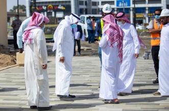 أمين عسير يتابع تقدم مستجدات مشروع تطوير وادي لعصان - المواطن