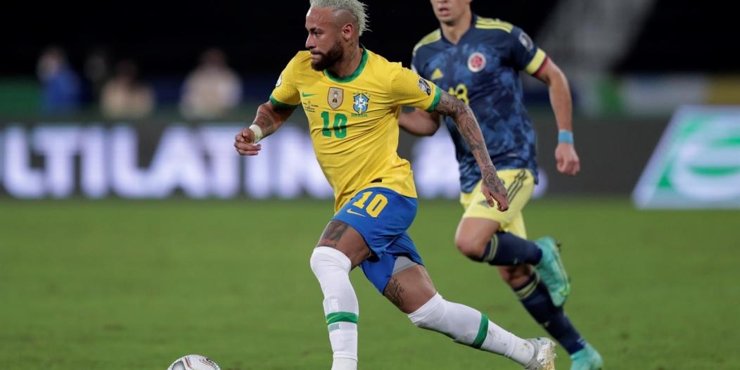 Neymar يتألق مع منتخب البرازيل