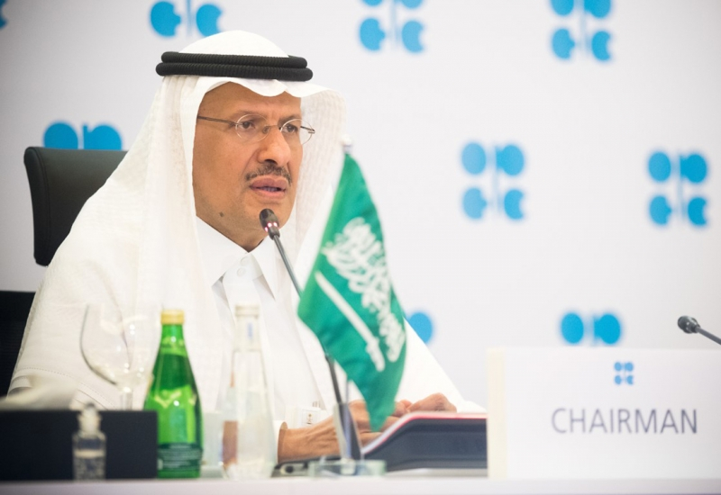 وزير الطاقة عبدالعزيز بن سلمان يحذر سوق النفط