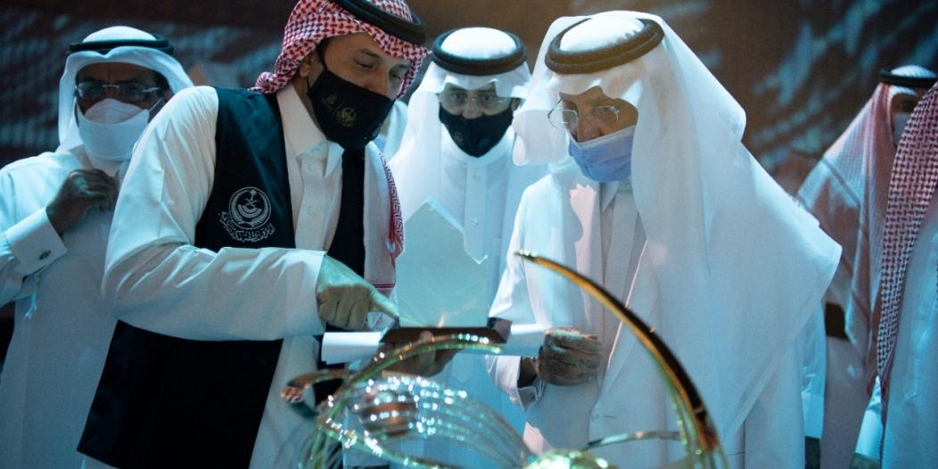 الفيصل يطلع على الاستعدادات النهائية لتدشين معرض مكة الرقمي