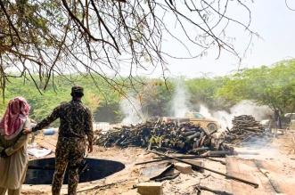 ضبط مخالفين يقطعون الأشجار لتحويلها إلى فحم بمنطقة مكة - المواطن
