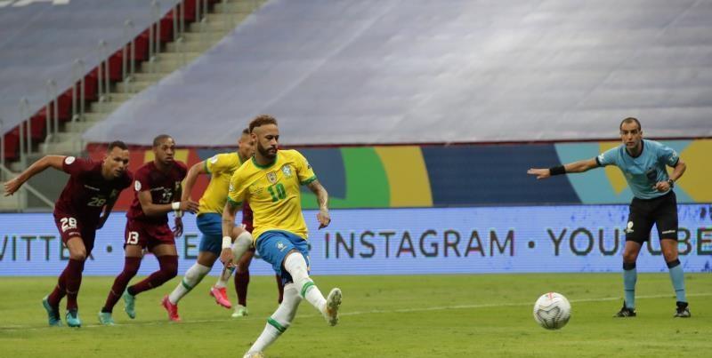 البرازيل وفنزويلا - Copa america