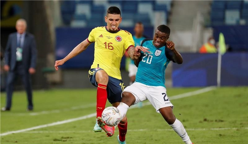 كولومبيا والإكوادور - Copa america