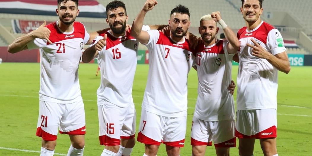 لاعبو منتخب سوريا يثيرون الجدل
